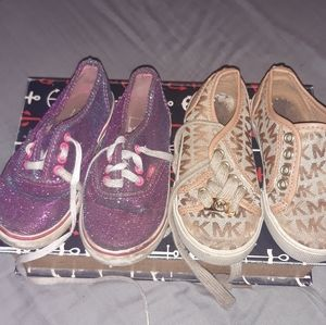Girls Van's & Michael Kors Lot